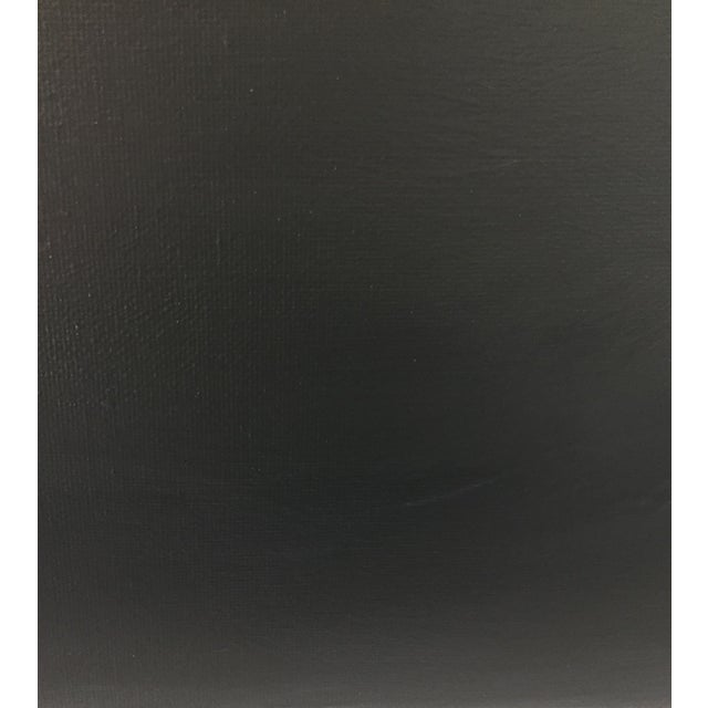 Image of Abstract Gray Ombré Acrylic on Canvas