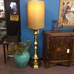 Image of Arteriors Waldo Metallic Brass-Finish Floor Lamp