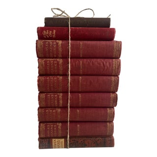 Charles Dickens Books - Set of 9