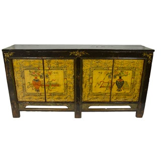 Gold & Brown Mongolian Sideboard