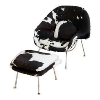 Pony Hide Womb Chair by Eero Saarinen for Knoll