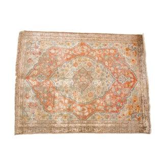 "Silk Tabriz Antique Persian Rug - 2'2"" x 2'8"""