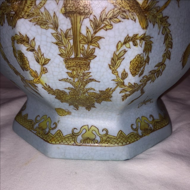 Chinese Octagonal Porcelain Planter - Image 6 of 6