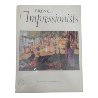 French Impressionists Art Book With Prints