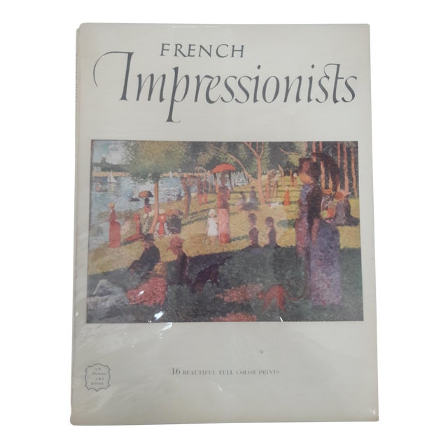 French Impressionists Art Book With Prints - Image 1 of 6