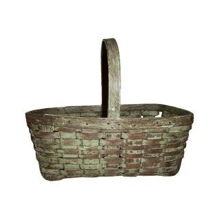 Green Primitive Basket