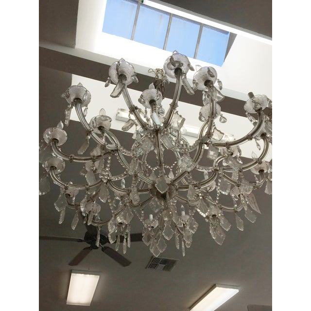 Maria Theresa 16 Arm Chrystal Chandelier - Image 6 of 7