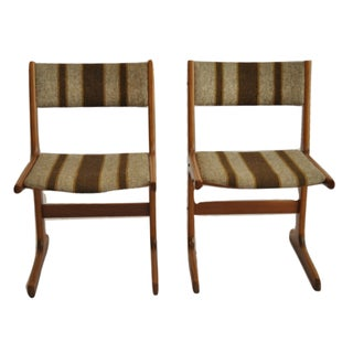 Danish Modern Side Chairs - A Pair