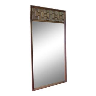 Mid-Century Modern Brutalist Mirror