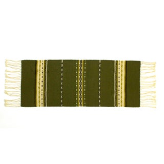 Southwestern Woven Wool Table Runner