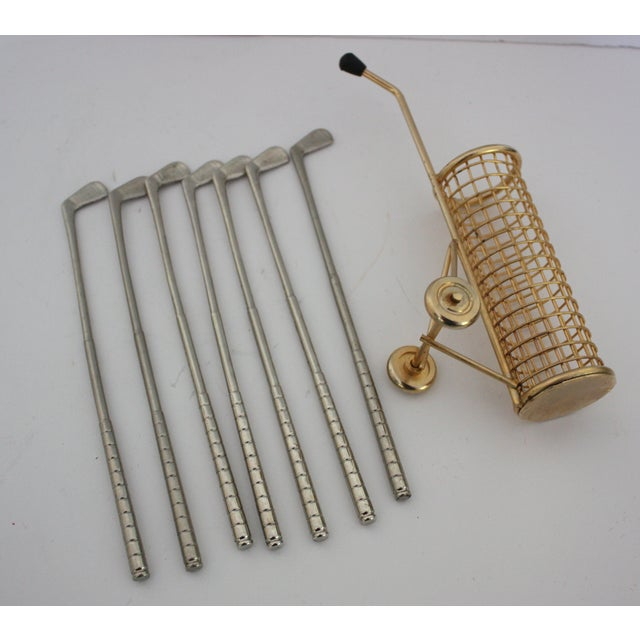 Mid-Centuy Golf Club Stirrers - Set of 7 - Image 3 of 3