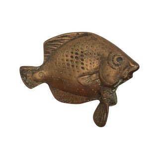 Vintage Brass Fish Figure
