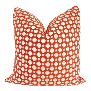 """Schumacher Betwixt in Spark Decorative Pillow Cover - 20"""" x 20"""""""