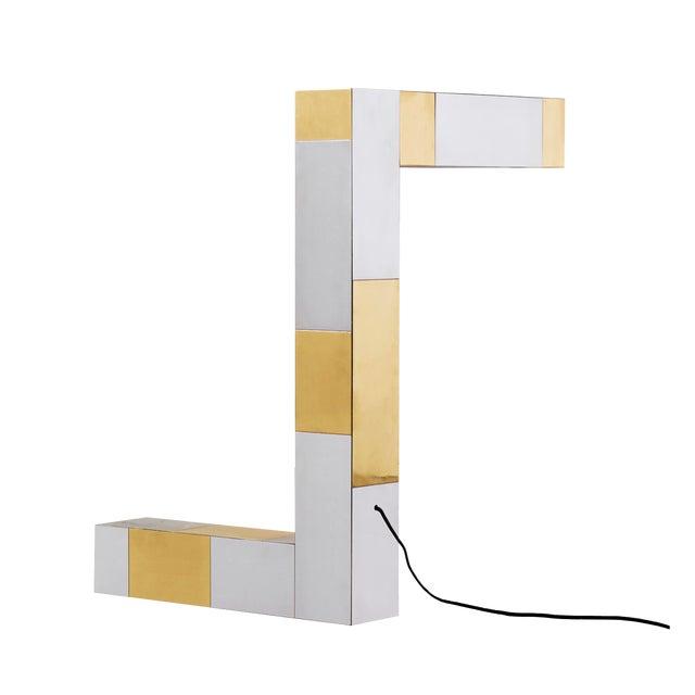 Paul Evans Axis Lamp - Image 1 of 5