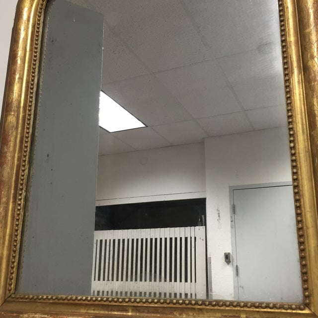 Arched Antique Mirror - Image 7 of 10