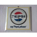 """Image of """"Say Pepsi, Please"""" Cola Vintage Thermometer"""