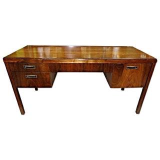 Mid-Century Modern Mahogany Desk
