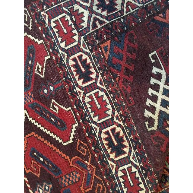 Antique Tribal Yomut /Turkoman Rug - 6′3″ × 11′