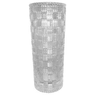 Tiffany & Co. Woven Crystal Vase