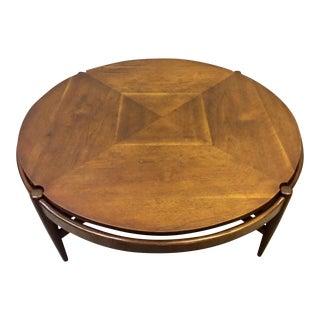 Vintage Mid-Century Walnut Coffee Table
