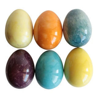 Italian Stone Eggs - Set of 6