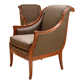 Leon Jallot pair of armchairs