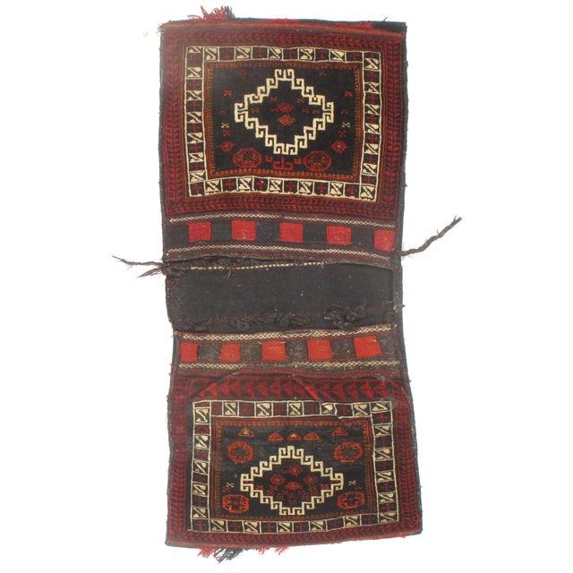 "Image of Vintage Persian Saddlebag - 2'2"" X 4'10"""