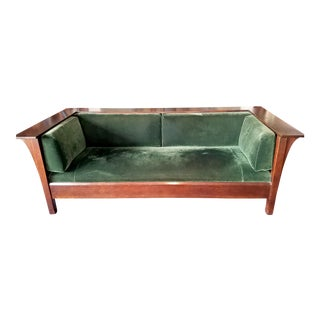 Stickley Mission Collection Prairie Settle Sofa