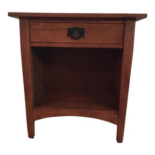 Stickley Mission Bedside Table