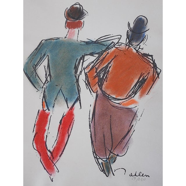 Limited Ed. Lithograph Mid 20th C. Clowns of Paris - Image 3 of 6