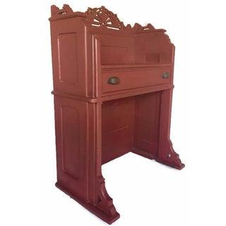 Victorian Eastlake-Style Secretary Desk