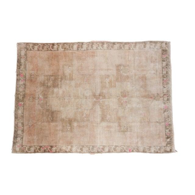"Image of Vintage Neutral Oushak Carpet - 8'3"" x 11'5"""