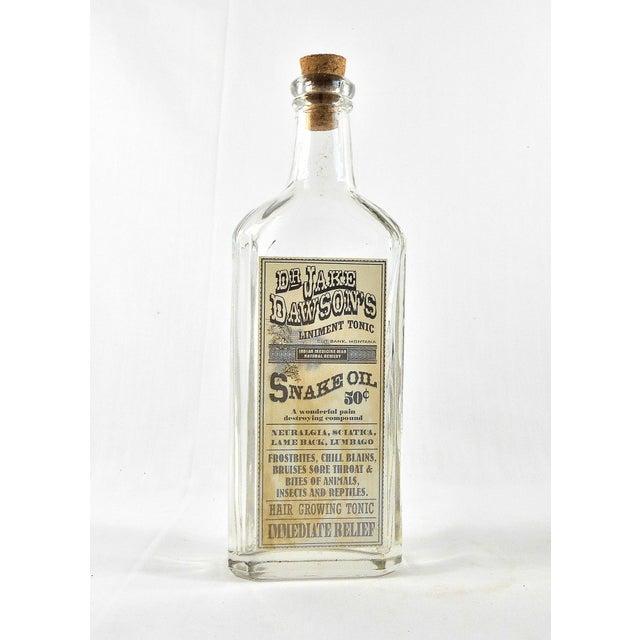 Vintage Snake Oil Remedy Bottle – Decorative Antique Remedy Bottle - Image 2 of 5