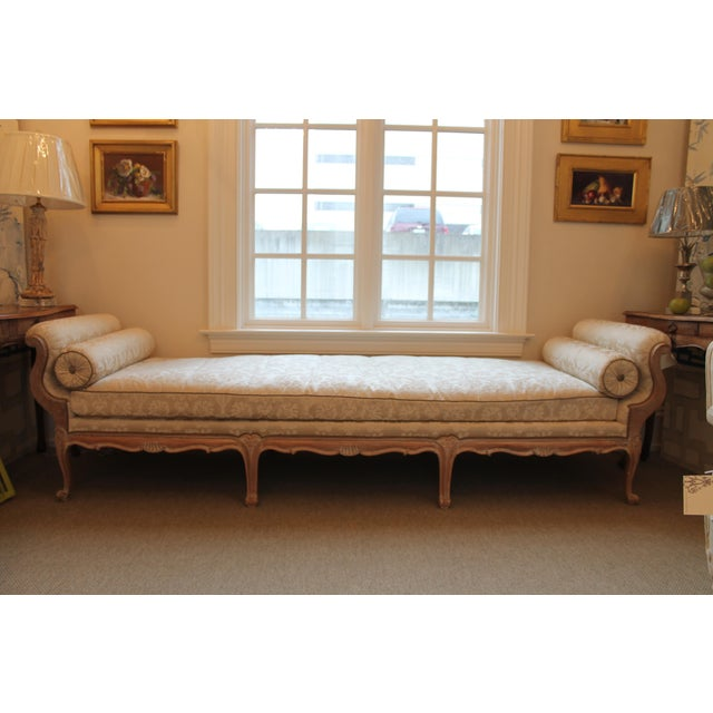 Carved Daybed with Bolsters - Image 2 of 6
