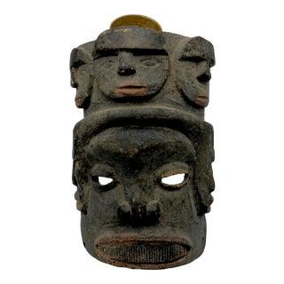 Antique Nigerian Ceremonial Ancestor Mask