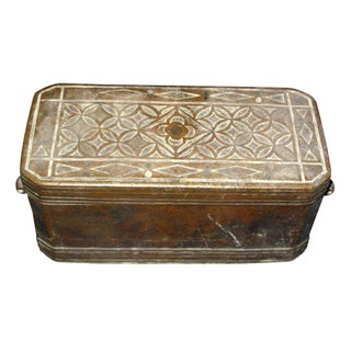 Antique Beetle Nut Box