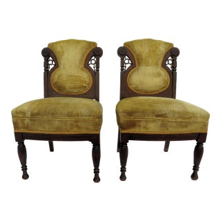 19th Century French Side Chairs - A Pair