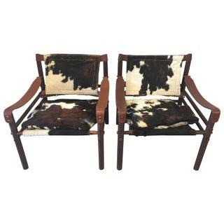 """Arne Norell """"Sirocco"""" Safari Chairs - A Pair"""