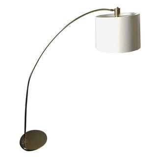 Vintage Brass Arc Style Floor Lamp