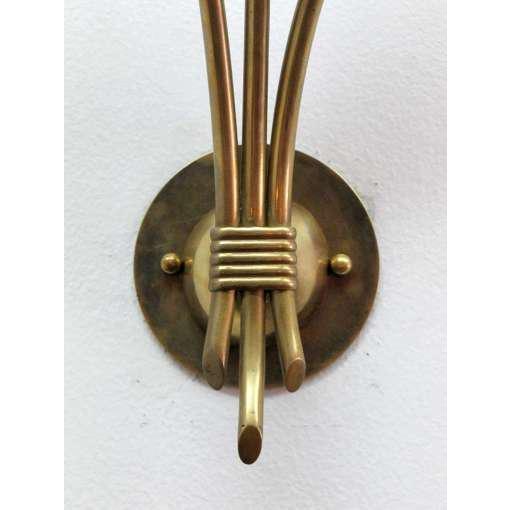German Triple Arm Sconces - A Pair - Image 4 of 10