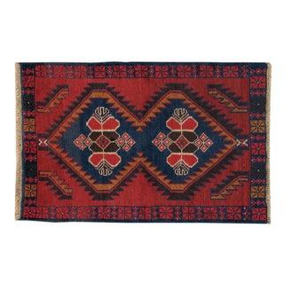 Apadana - Vintage Red Baluch Rug - 3' X 4'