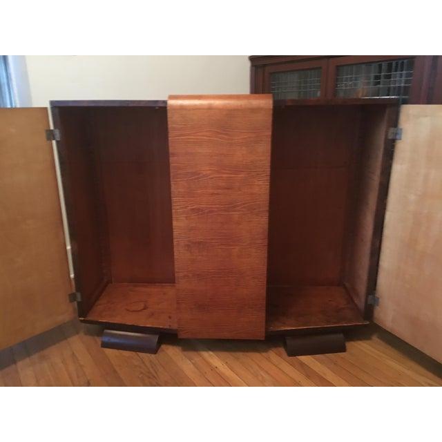 1930s Modernist Art Deco Rosewood Bar Cabinet - Image 10 of 10
