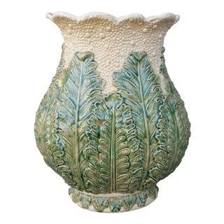Large Porcelain Caulifower Vase