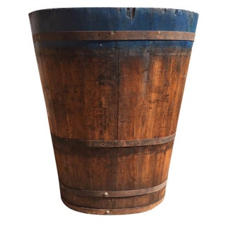 Vintage French Vineyard Barrels