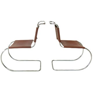 Mies Van Der Rohe Mr-10 Chairs - a Pair