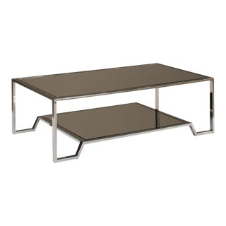 Sarreid Ltd. East End Stainless Steel Coffee Table