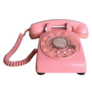 1969 Pink Rotary Telephone