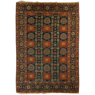 Antique Persian Senneh Kurd Rug