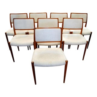 Niels Moller Danish Dining Chairs - Set of 8