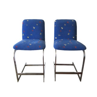Memphis Style Canteliever Chairs - a Pair